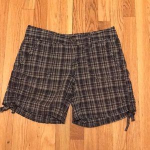 100% Cotton women's Plaid Calvin Klein Shorts